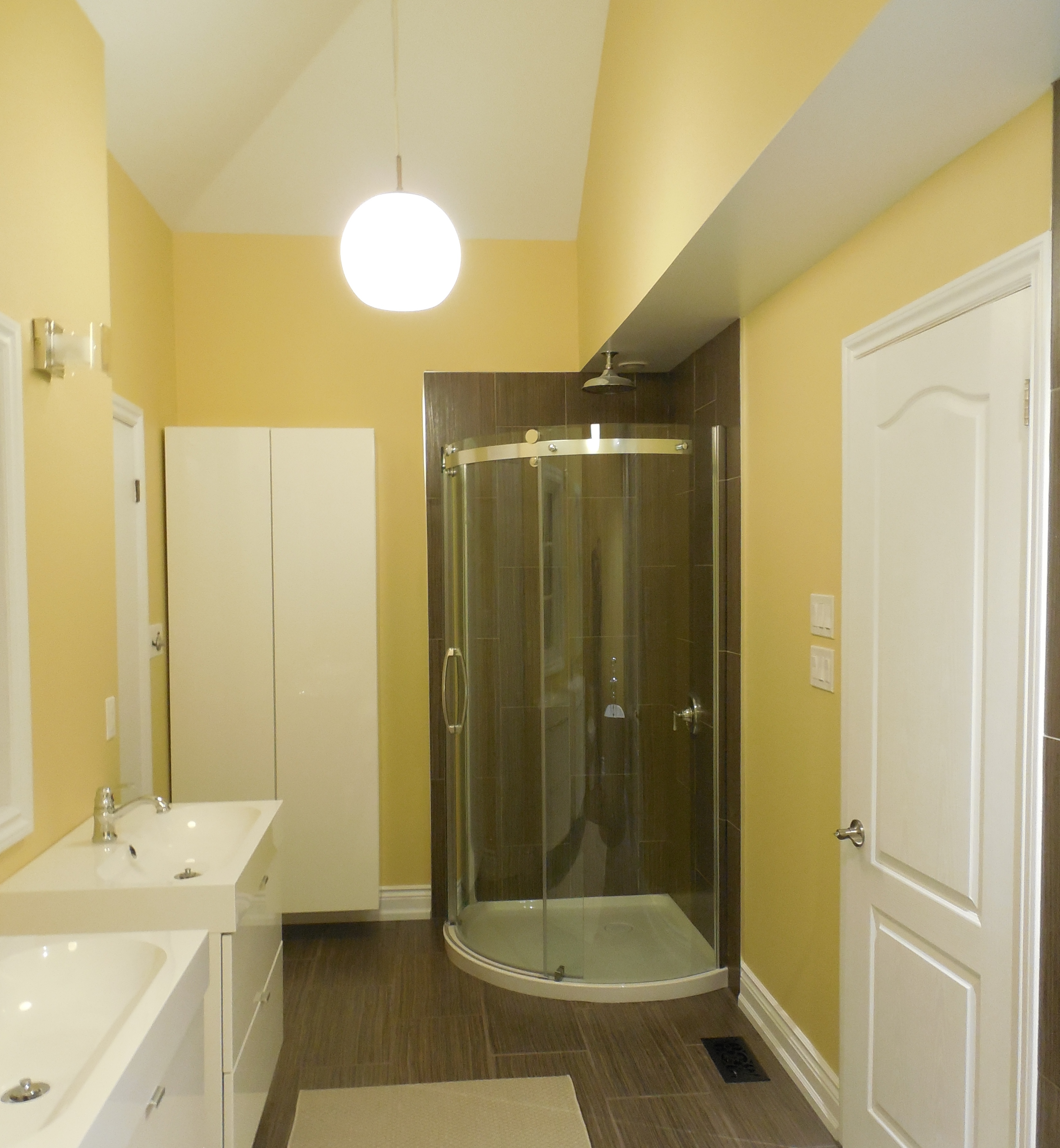 full scale bathroom renovation