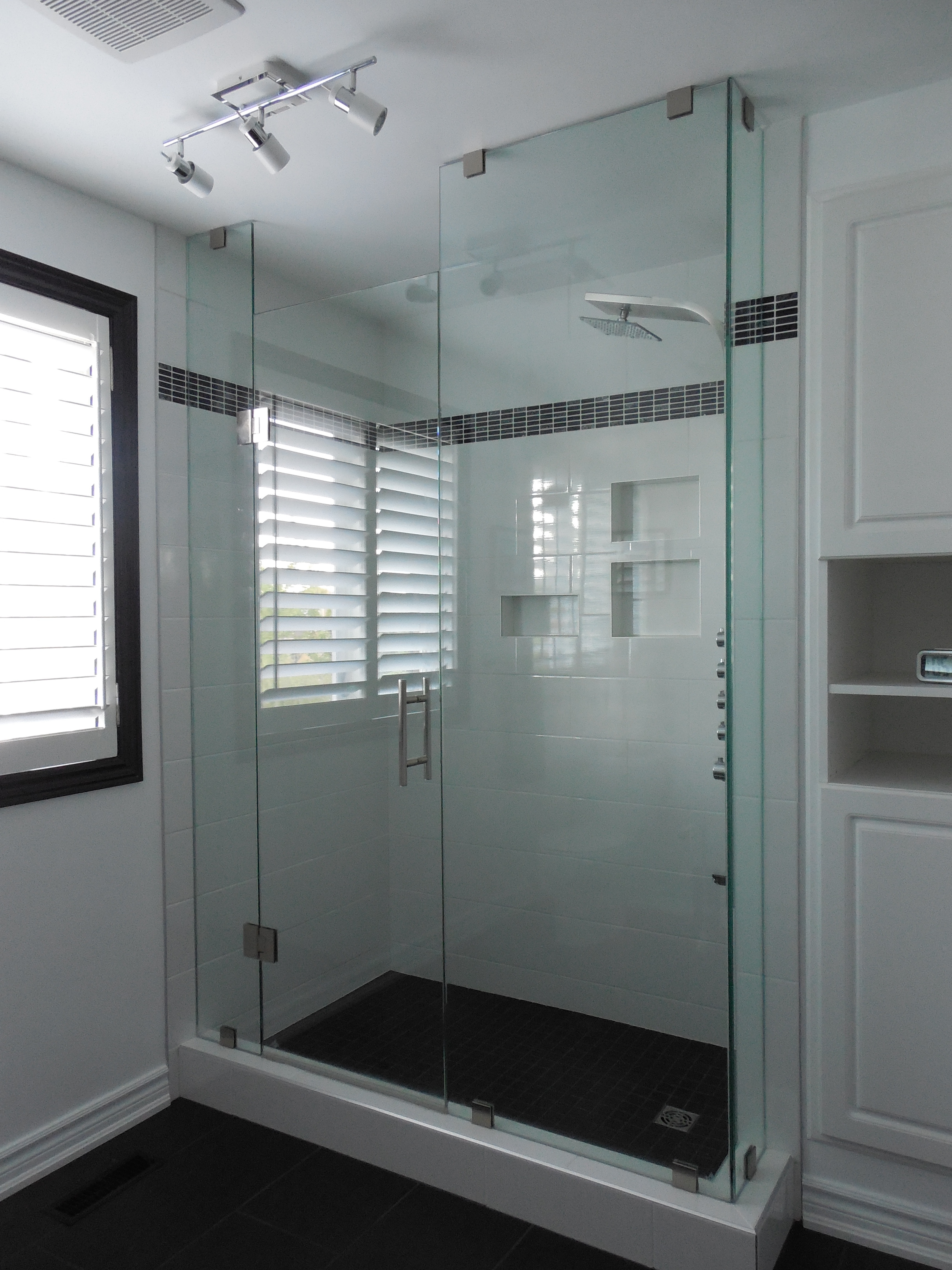 bathroom shower installation