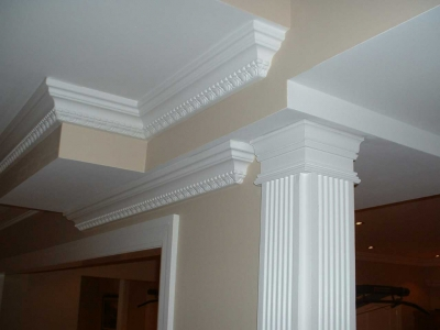 crown molding in home renovation